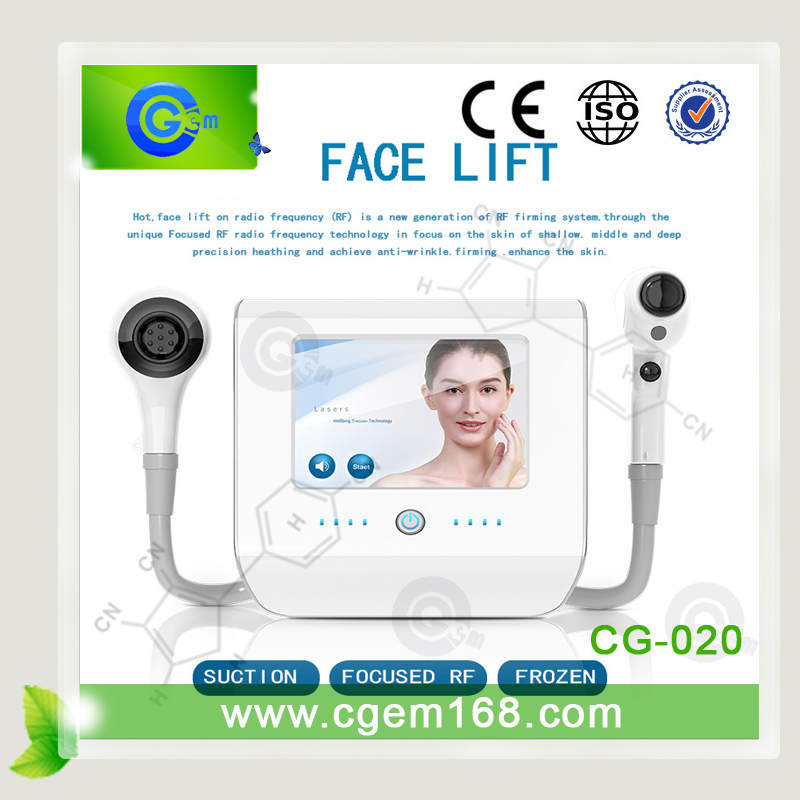 Newest Focused 40.68hz RF Thermolift At Home Skin Tightening Machine